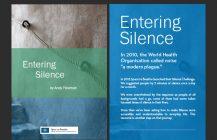 Entering Silence